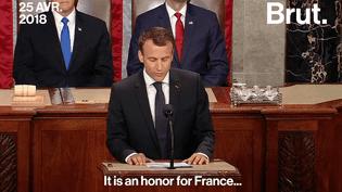 VIDEO - Ce qu'il faut retenir du discours d'Emmanuel Macron devant le Congrès américain (brut)