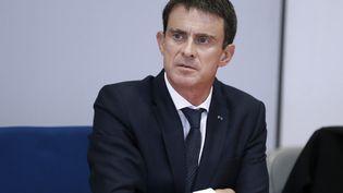 Le Premier ministre Manuel Valls à Rouen, le 25 novembre 2016. (CHARLY TRIBALLEAU / AFP)