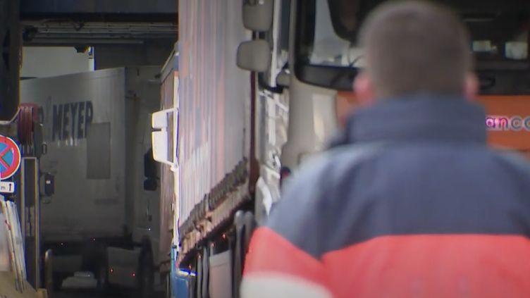 Brexit : Calais, nouvelle frontière de l'Union européenne. (Capture d'écran/France 2)