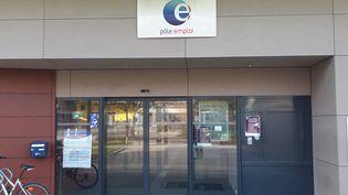 Une agence Pôle emploi à Besançon (Doubs). (CHRISTOPHE MEY / FRANCE-BLEU BESANÇON)