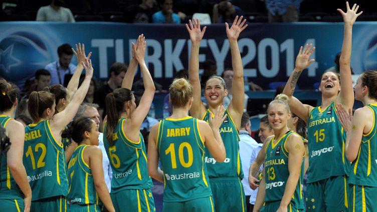 Les Australiennes prennent le bronze (OZAN KOSE / AFP)