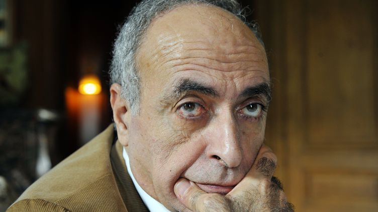 L'intermédiaire en armes franco-libanais,Ziad Takieddine, le 18 octobre 2012 à Paris. (MEHDI FEDOUACH / AFP)