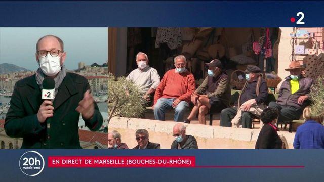 Covid-19 à Marseille : taux d'incidence en hausse