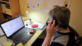 Le télétravail devrait être pérennisé par des accordssignés au sein des entreprises. (MAXPPP)