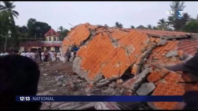 Inde : un feu d'artifice mal contrôlé fait plus de 100 morts