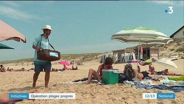 Initiatives : opération plages propres