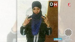 Hasna Aït Boulahcen, la terroriste tuéeà Saint-Denis (Seine-Saint-Denis), photo non datée. (FRANCE 2)