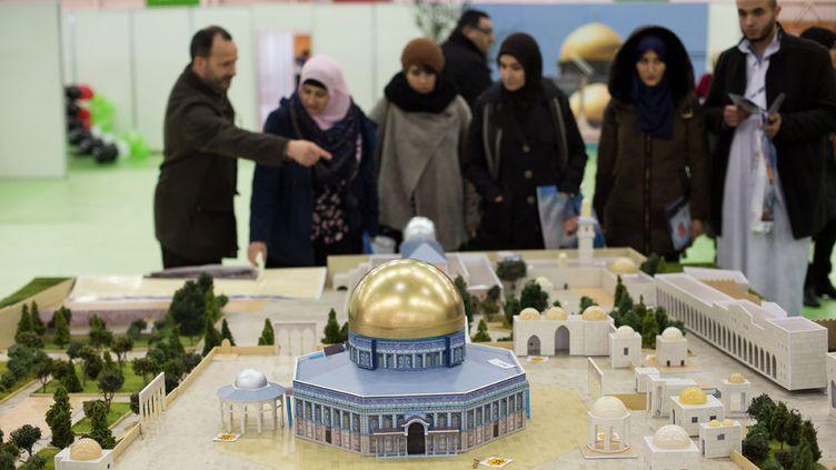 (Rencontre annuelle des Musulmans de France au Bourget en 2015  © maxPPP)