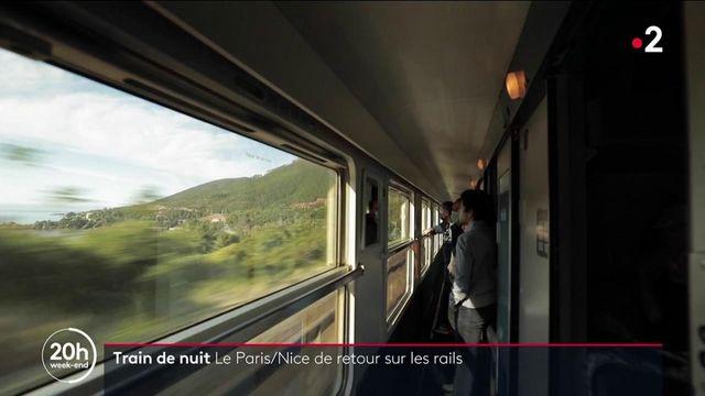 Train de nuit : le retour du Paris/Nice