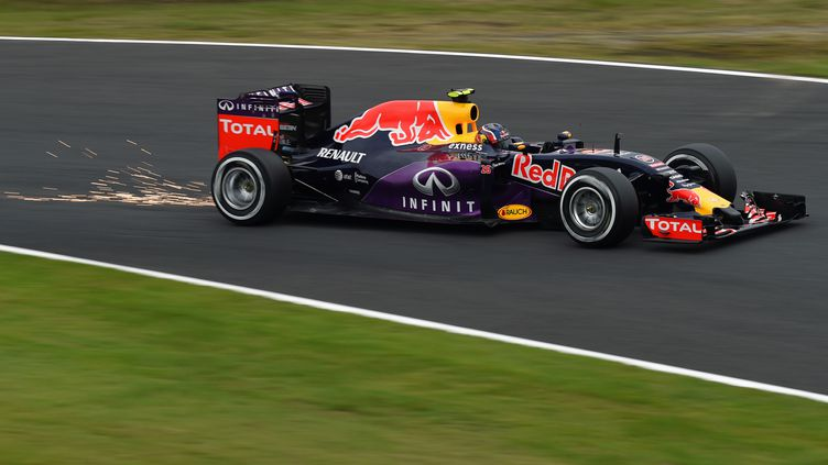 Daniil Kvyat (Red Bull) (TOSHIFUMI KITAMURA / AFP)