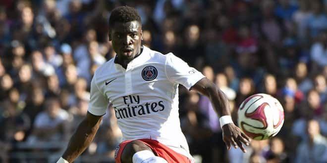 Le défenseur du PSG, Serge Aurier