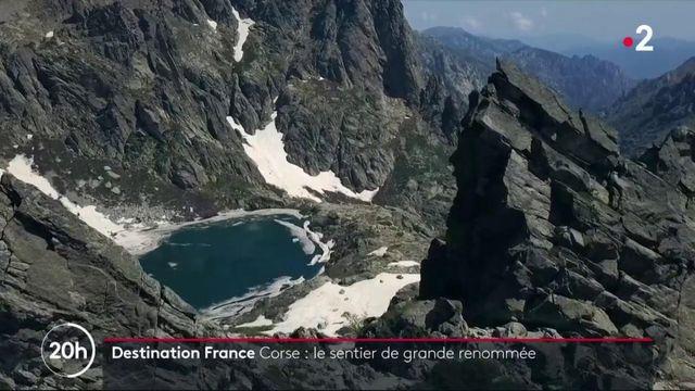 Destination France en Corse : le sentier de grande renommée
