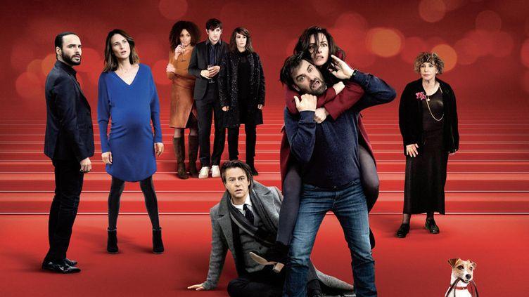 """L'affiche de la saison 3 de la série """"Dix pour cent"""", diffusée sur France 2. (Christophe Brachet / Mon Voisin Productions / Mother Production / France Télévisions)"""