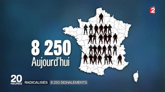 Le nombre de radicalisés en France a doublé en moins d'un an
