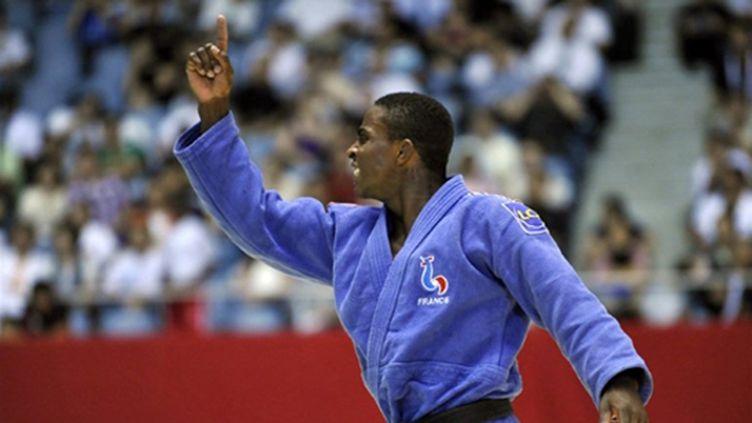 Loïc Korval est médaillé de bronze aux Mondiaux 2010 (KAZUHIRO NOGI / AFP)
