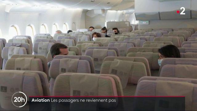 Transport aérien : les passagers ne reviennent pas