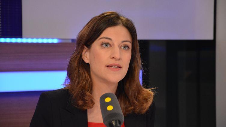 Juliette Méadel, secrétaire d'État auprès du Premier ministre, chargée de l'Aide aux victimes. (Jean-Christophe Bourdillat / Radio France)