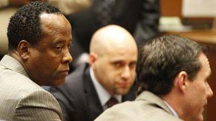 Le Dr Conrad Murray, à son procès le 7 novembre 2011.  (AL SEIB / LOS ANGELES TIMES / AFP)