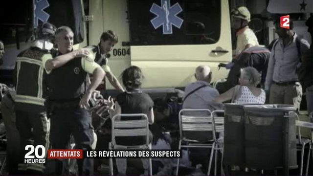 Attentat de Catalogne : les révélations des suspects