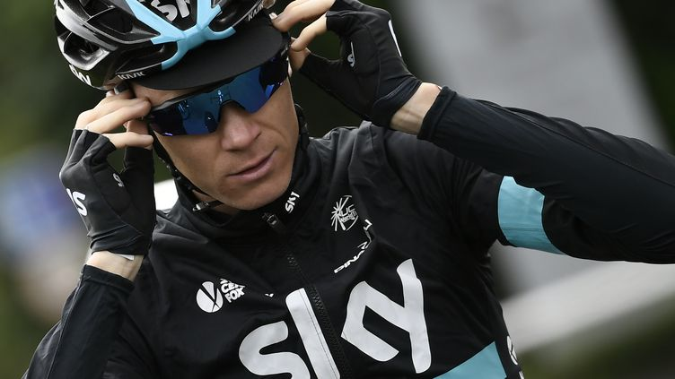 Christopher Froome. (JEFF PACHOUD / AFP)