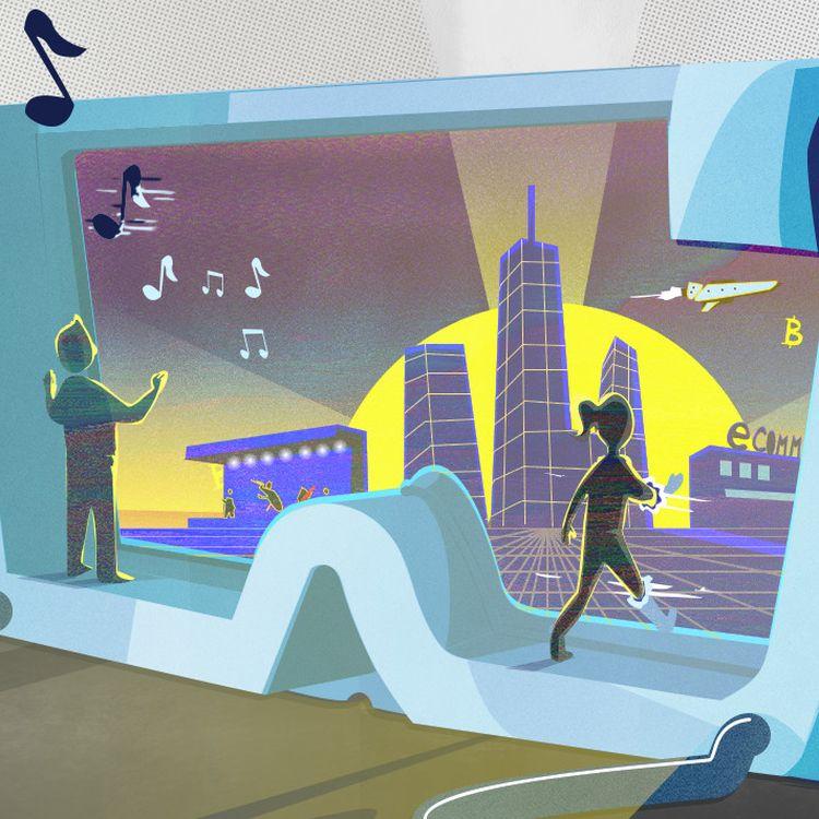 Le métavers promet des expériences en ligne bien plus immersives qu'avec un écran ou une souris. (PIERRE-ALBERT JOSSERAND / FRANCEINFO)