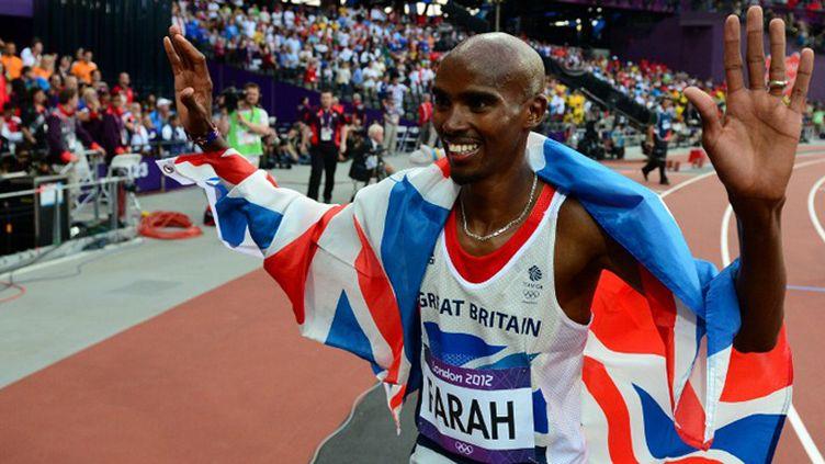 Mo Farah, double champion olympique 5000 et 1000m