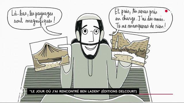 Ben Laden : deux Français racontent dans une BD leur rencontre avec l'ancien chef d'Al-Qaïda