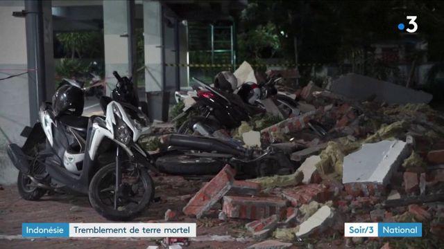Tremblement de terre mortel en Indonésie