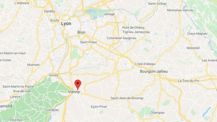 Vienne (Isère). (GOOGLE MAPS)