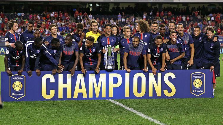Après l'International Champions Cup, le Paris Saint-Germain est prêt pour remporter le Trophée des Champions face à Lyon (JONATHAN DANIEL / GETTY IMAGES NORTH AMERICA)