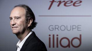 Xavier Niel, fondateur du fournisseur d'accès Internet haut débit français Iliad, à Paris, le 14 janvier 2021. (JOEL SAGET / AFP)