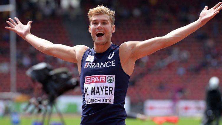 Le Décathlonien français Kevin Mayer