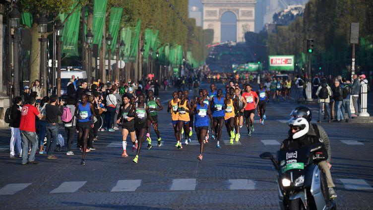 Marathon Paris 2017 (ERIC FEFERBERG / AFP)
