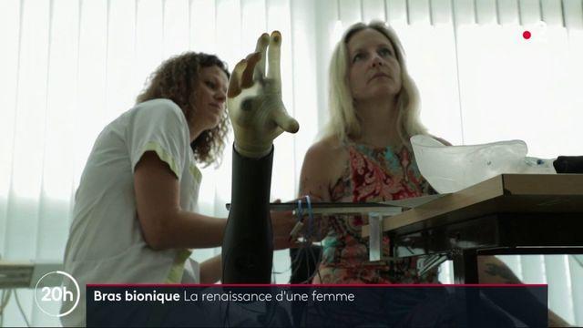 Prothèse bionique : la renaissance d'une femme qui a pu en bénéficier