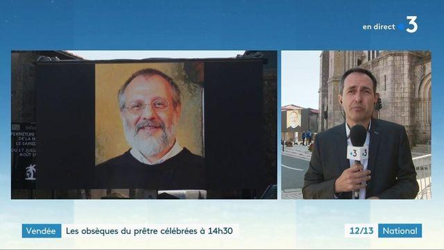 Prêtre tué en Vendée : les funérailles du père Olivier Maire se dérouleront à Saint-Laurent-sur-Sèvre