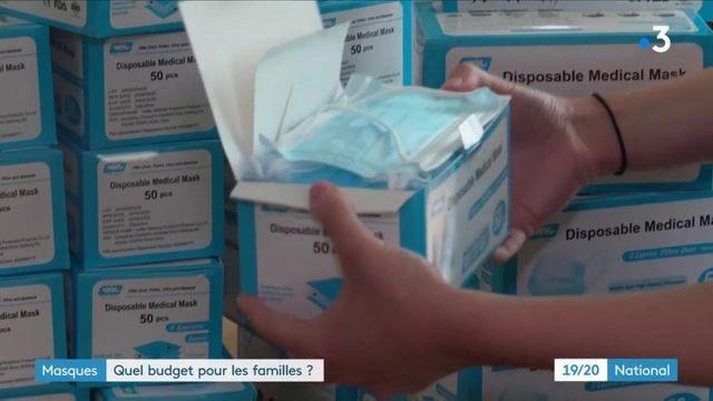 Masque : quel budget pour les familles ?