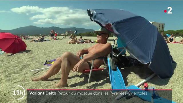 Variant Delta : le port du masque fait son retour dans les Pyrénées-Orientales