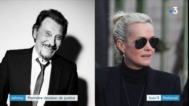 Johnny Hallyday : première decision de justice