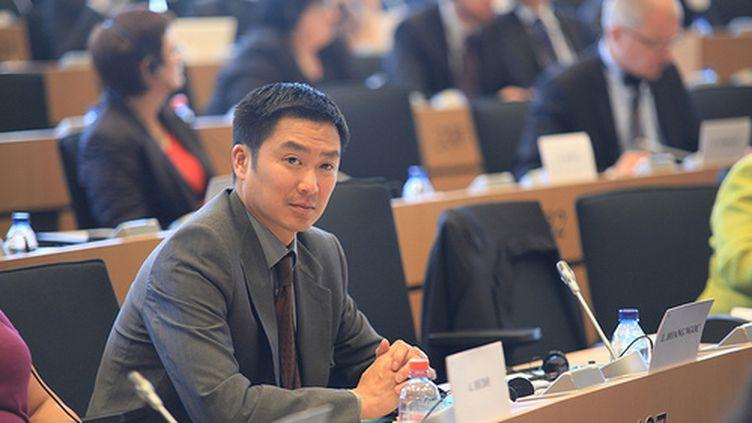 Liêm Hoang-Ngoc au parlement européen (DR)