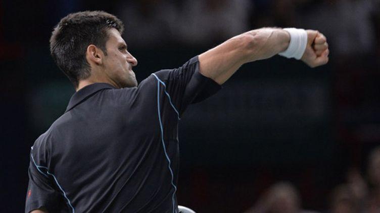 Le Serbe Novak Djokovic et sa rage de vaincre habituelle