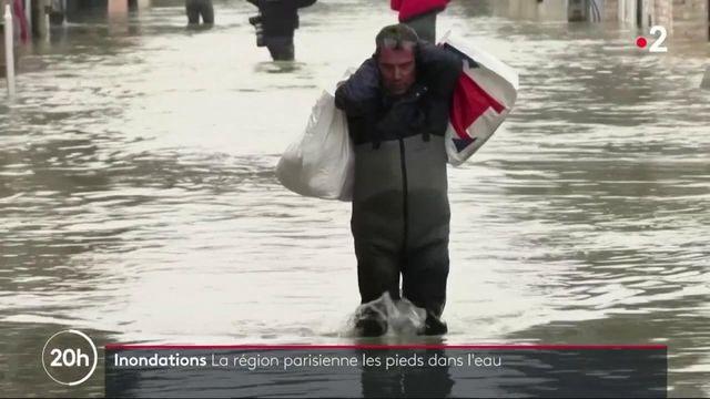 Inondations : le ras-le-bol des habitants d'Esbly, en proie à une nouvelle crue