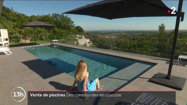 Consommation : le boom des ventes de piscines individuelles