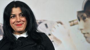 Marjane Satrapi à Rome en novembre 2012  (TIZIANA FABI / AFP)
