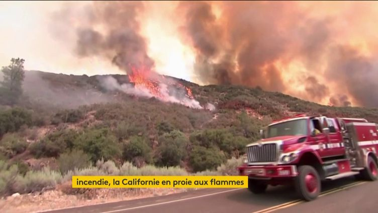 Des incendies ravagent la Californie en août 2020 (FRANCEINFO)