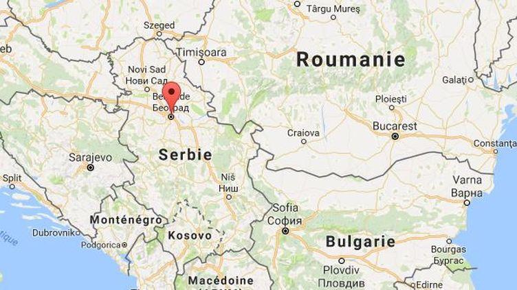 """L'annonce est parue dans le journal serbe """"Politika"""". (GOOGLE MAPS)"""