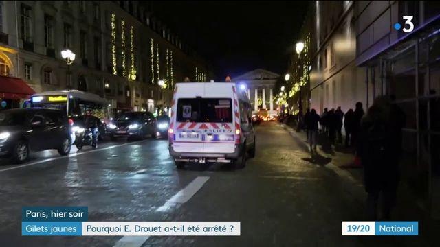 """""""Gilets jaunes"""" : pourquoi Eric Drouet a-t-il été arrêté ?"""