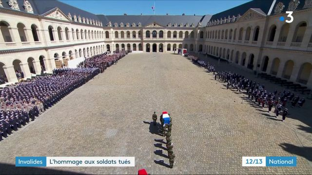 Militaires tués : hommage de la France à ses soldats