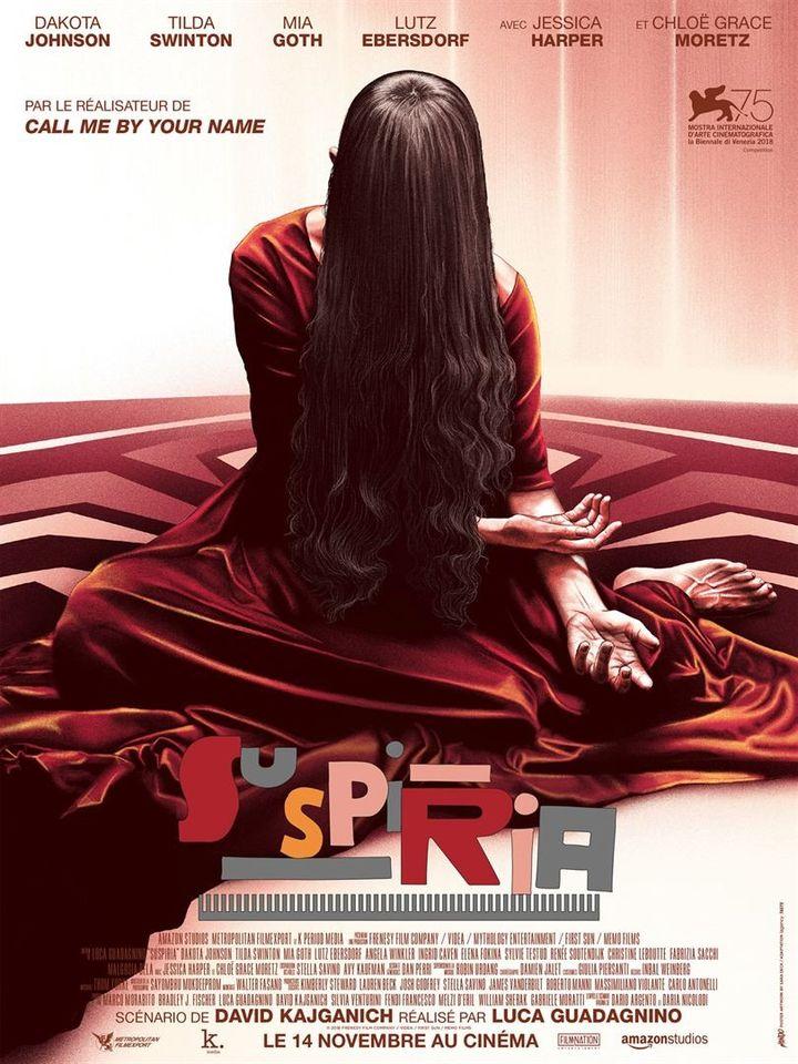 """""""Suspiria"""" (2018) : l'affiche  ( Metropolitan FilmExport )"""