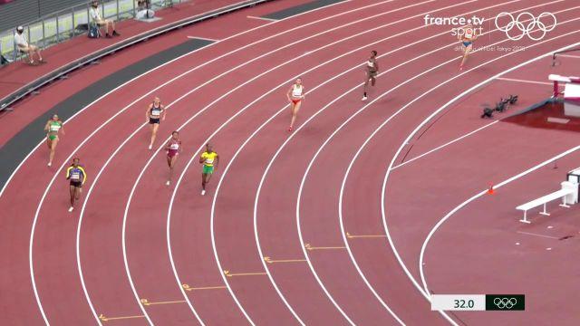 La Française Amandine Brossier est éliminée après avoir pris la sixième place de sa demi-finale du 400 m remportée par la Jamaïcaine Stephenie Ann McPherson.