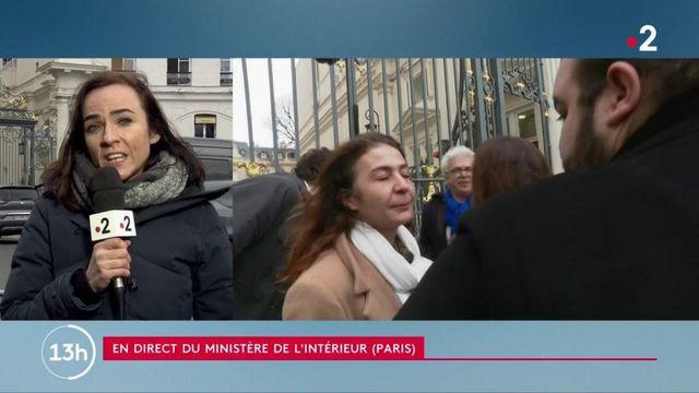 Christophe Castaner reçoit la famille de Cédric Chouviat, le livreur décédé après une interpellation